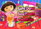 Cute Dora Betroom Cleanup