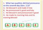 BIBLE QUIZ - GENESIS 2